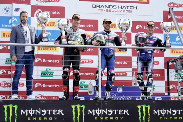 O'Halloran strikes back to win race two at Brands Hatch