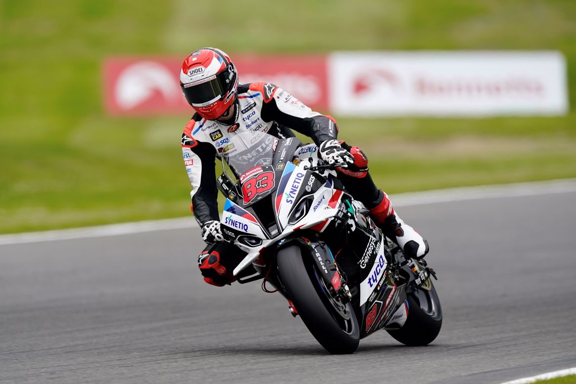 Boom! It's Buchan fastest ahead of Iddon after opening SUPERPICKS free practice sessions