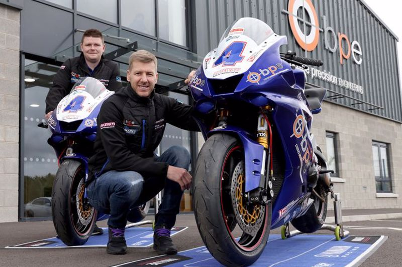 Hutchinson will ride the Boyce Precision Engineering by Russell Racing R6 in the Quattro Group British Supersport Championship