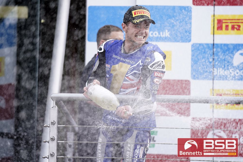 Mackenzie seals iconic Bennetts BSB title victory with incredible race two victory