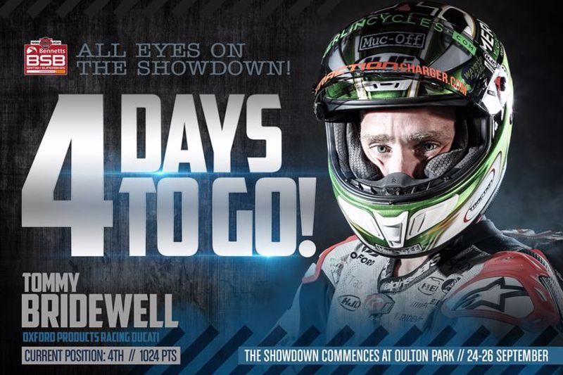 All eyes on the #BSBShowdown - 4 days to wait until Oulton Park