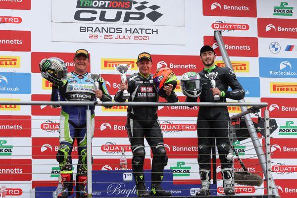 Ducati TriOptions Cup: Walker wins ahead of McGuinness!