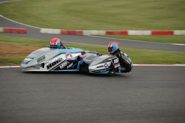 Molson Group British Sidecar: Birchal brothers double up on wins