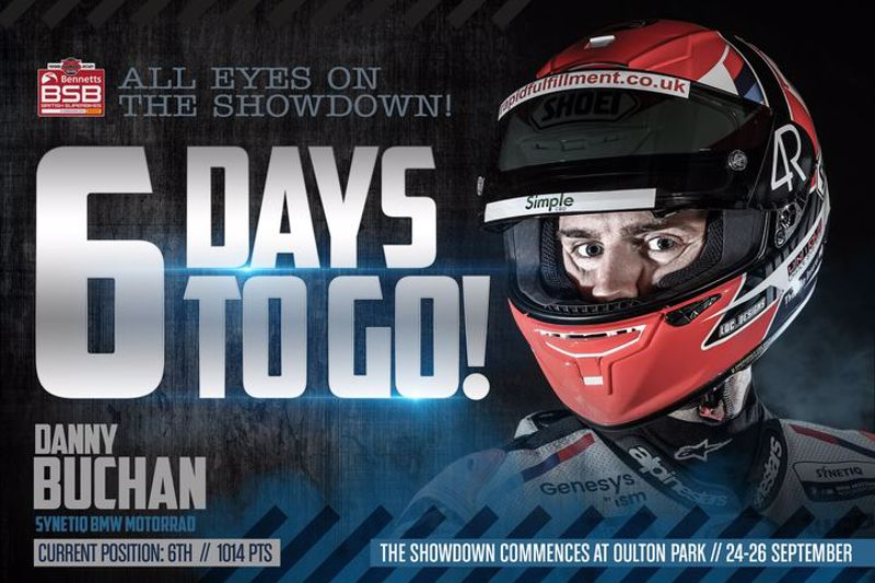 All eyes on the #BSBShowdown - 6 days to wait until Oulton Park