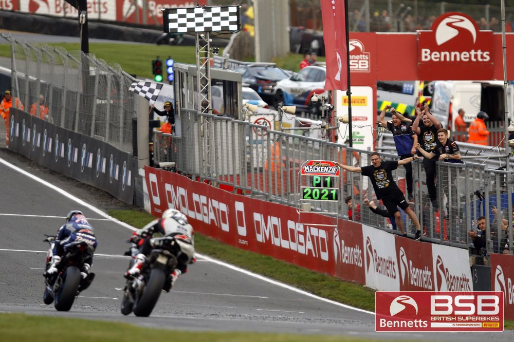 Mackenzie celebrates in style with final victory of Bennetts BSB season