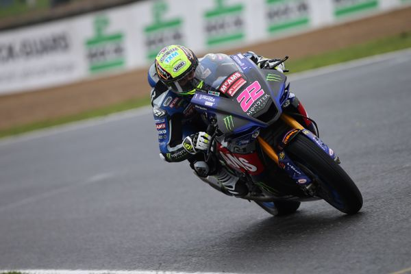O'Halloran fastest as Brookes launches to second in damp free practice three