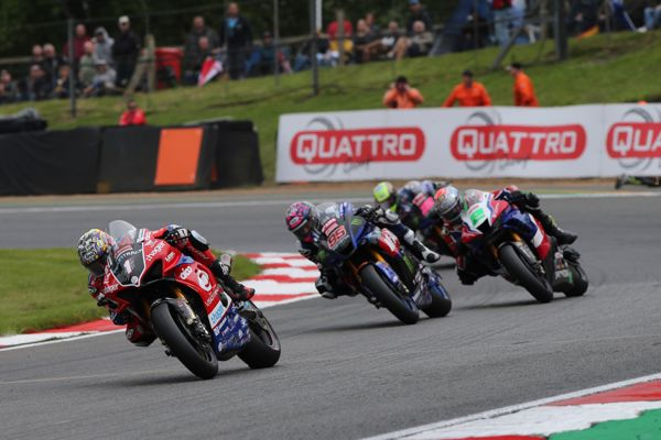 Defending champion Brookes back in the top five at Brands Hatch