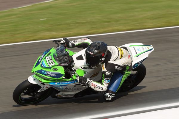 HEL Junior Supersport Championship: Booth-Amos claims pole position
